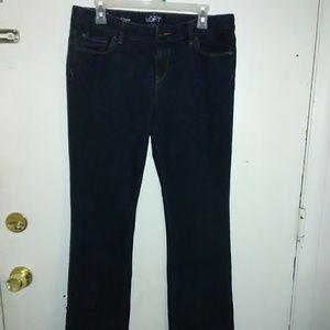Ann Taylor LOFT boot cut jeans